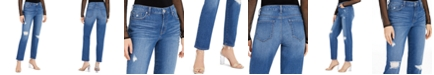 INC International Concepts INC Distressed Curvy-Fit Boyfriend Jeans, Created For Macy's