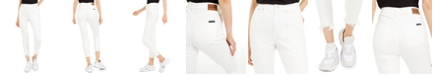 Calvin Klein Jeans Distressed High-Rise Skinny Jeans