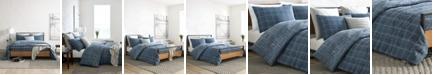 Kenneth Cole Holden Grid Twin Comforter Set