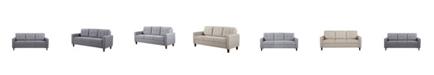 Us Pride Furniture Rossetti Mid Century Tufted Sofa