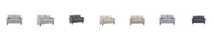 Us Pride Furniture Mcnaboe Tufted Loveseat
