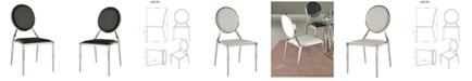Chintaly Lisa Round Back Side Chair, Set of 4