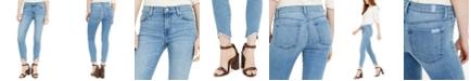 7 For All Mankind Raw-Hem Skinny Jeans