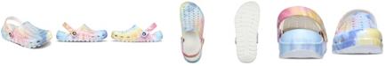 Skechers Women's Cali Gear Tie-Dye Clog Sandals from Finish Line