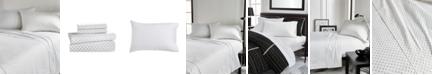 Karl Lagerfeld Paris Polka Dot Heart 4 Piece Sheet Set, Full
