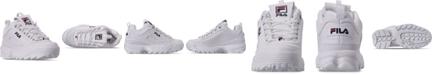 Fila Little Boys Disruptor II Casual Sneakers from Finish Line