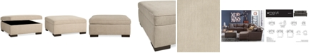 Furniture Radley Fabric Storage Ottoman, Created for Macy's