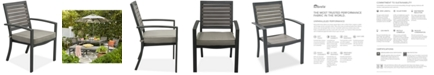 Furniture CLOSEOUT! Marlough Aluminum Outdoor Dining Chair