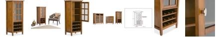 Simpli Home Burbank High Storage Wine Rack