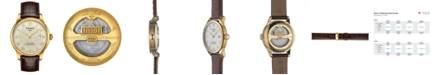 Tissot Men's Swiss Automatic Le Locle Brown Leather Strap Watch 40mm