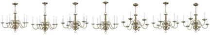 Livex Williamsburg Chandelier Light