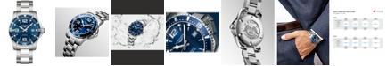 Longines Men's Swiss Automatic HydroConquest Stainless Steel Bracelet Watch 41mm