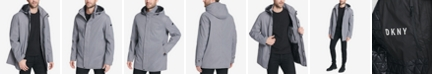 DKNY Men's Big & Tall All Man's Parka with Detachable Hood, Created for Macy's
