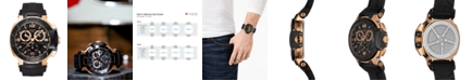 Tissot Men's Swiss Chronograph T-Race Black Rubber Strap Watch 50.26mmX45.3mm T0484172705706