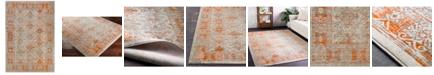 "Surya Jax JAX-5050 Burnt Orange 18"" Square Swatch"