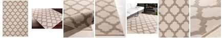 """Surya Alfresco ALF-9586 Cream 2'3"""" x 4'6"""" Area Rug, Indoor/Outdoor"""