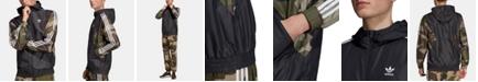 adidas Men's Originals ClimaStorm® Colorblocked Camo Windbreaker