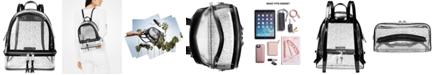 Michael Kors Rhea Clear Logo Backpack