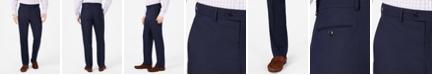 Vince Camuto Men's Slim-Fit Navy Pin-Dot Suit Pants