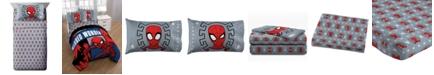 Marvel Spiderman 3 Piece Twin Sheet Set
