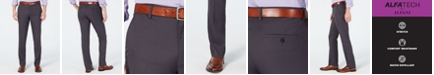 Alfani AlfaTech by Men's Slim-Fit Stretch Pants, Created for Macy's