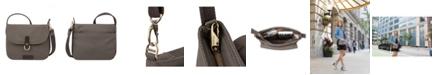 Travelon Anti-Theft Courier Saddle Crossbody