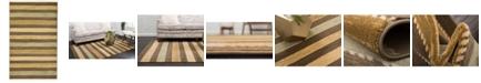 """Bridgeport Home Ojas Oja1 Brown 3' 3"""" x 5' 3"""" Area Rug"""