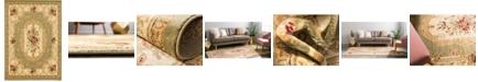 "Bayshore Home Bridgeport Home Belvoir Blv3 Green 8' x 11' 4"" Area Rug"