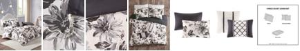 Intelligent Design Dorsey 5-Pc. Floral Print Duvet Cover Sets