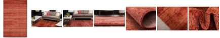 Bridgeport Home Lyon Lyo3 Terracotta 5' x 8' Area Rug
