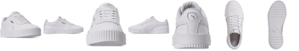 Puma Women's Carina Leather Casual Sneakers from Finish Line