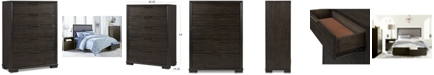 Furniture Morgan 5-Drawer Chest, Created for Macy's