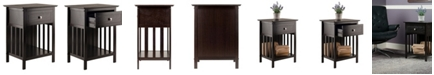 Winsome Wood Marcel Accent Table