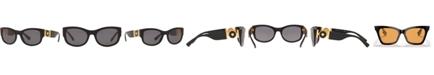Versace Polarized Sunglasses, Created for Macy's, VE4372 55