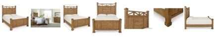 Furniture Trisha Yearwood Homecoming King Post Bed