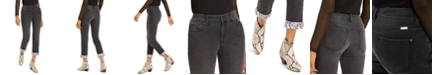 INC International Concepts INC Snake-Cuff Boyfriend Jeans, Created For Macy's