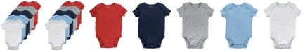 Mac & Moon Baby Boy 5-Pack Short Sleeve Bodysuits