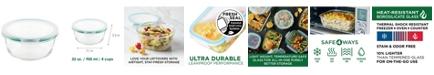 Lock n Lock Purely Better™ Glass 32-Oz. Round Food Storage Container