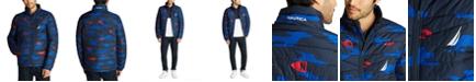 Nautica Men's Tempashere Insulated Printed Jacket