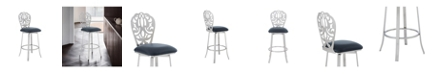 Armen Living Cherie Bar Stool, Quick Ship