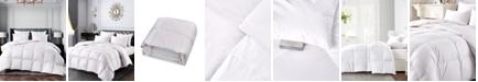 Elle Decor Ultra-Soft Nano-Touch All Season White Down Fiber Comforter, Twin