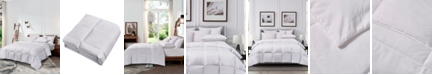 Cannon Microfiber All Season White Goose Feather and Down Fiber Comforter, Full/Queen