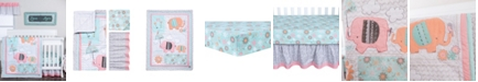 Trend Lab Playful Elephants 3-Piece Crib Bedding Set