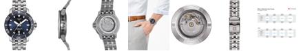 Tissot Men's Swiss Automatic T-Sport Seastar 1000 Powermatic 80 Silicium Stainless Steel Bracelet Diver Watch 43mm