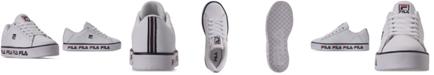 Fila Big Boys' Multilogo Premium Casual Sneakers from Finish Line