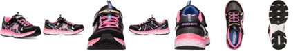 Skechers Little Girls' Groovies Training Sneakers from Finish Line