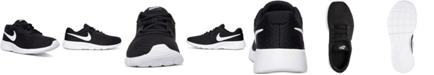 Nike Big Boys'   Tanjun Casual Sneakers from Finish Line