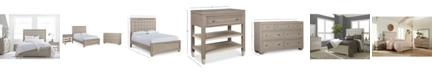 Furniture Kelly Ripa Kendall Bedroom Furniture, 3-Pc. Set (Queen Bed, Dresser & Nightstand), Created for Macy's