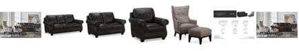 Furniture Roselake Leather Sofa Collection, Created for Macy's