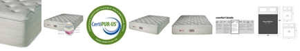 Nature's Spa by Paramount Serenity Latex 15'' Cushion Firm Mattress- Queen